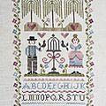 Tralala point de croix / cross stitch / by Bricolette BRICO