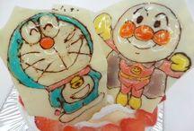 ゼリーペンペイント / お子さんに喜んで貰いたいと誕生日ケーキにご注文頂いております 最近はアニメ以外のイラストも