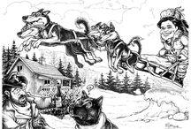 Geschenk Karikatur - Karikaturen vom Foto