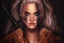 Fantasy - Humans of the Northern and Tribal Clans