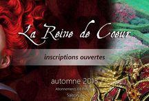 AKP - La Reine de Coeur / Abonnement Kit Prestige 2015 : La Reine de Coeur Suivez un projet à broder au fils des mois