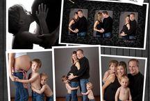 foto familiar embarazo