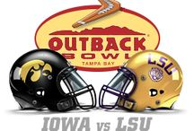 Outback Bowl / Gear up for the Outback Bowl!  2014 Outback Bowl Iowa vs LSU!!! www.thehonoursociety.com/iowa and www.thehonoursociety.com/lsu