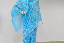 Chikankari Saree / Designer Chikankari Sarees