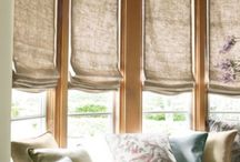 Window treatments / All sorts of lovely and unusual window treatments
