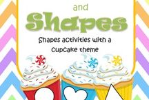 Shapes Activities / This is a collection of SHAPES activity resources for your preschool, pre-K and Kindergarten aged children, to use both at school and at home. Make hands-on, interactive learning games and activities with these creative free, and low-cost printable pages.