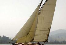 Small gaffs / Small sailboats