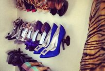 Shoe organising ideas