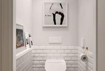 małe wc