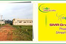SMR Green City Eluru, Street View...