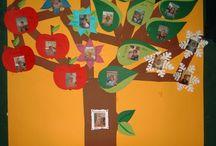 de 4 seizoenen verjaardagsboom