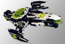 Lego: spaceships