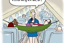 Travel Humor  / We all need to have a laugh once in while and the best way to do that is when travelling.