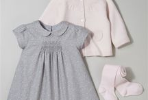 A love of Smocking / Gorgeous smocked dresses and traditional rompers for babies and young children