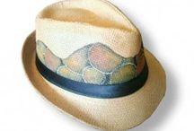 Sombreros primavera/verano de LA TUERTA / Sombreros decorados para primavera verano.