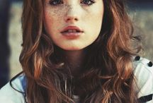 Freckels / Woman with freckels have just this little bit extra - we love it!