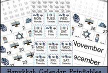 Hanukkah Worksheets/Printables
