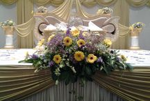 STAGE DECORATION / STAGE WEDDINGS