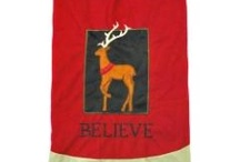 Tree Skirts and Stockings / Collection of tree skirts and stockings at the Santa Claus Christmas Store located in Santa Claus, Indiana. http://www.SantaClausChristmasStore.com. / by Santa Claus Christmas Store