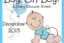 Boy OH Boy Event December 2013 / All of the amazing products I am showcasing on my blog in December to celebrate the arrival of our baby boy!