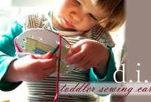 Teaching Kids to Sew / by Sadie Fox Studio