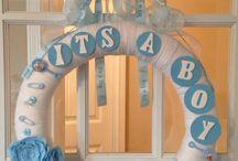 Babyshower/versiering / Baby