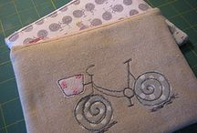 Bike embroidered