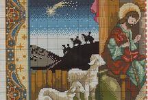 Punto croce - Natale