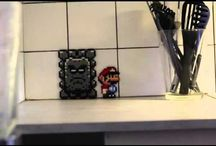 I'm living in my 8 bit world / Video Game inspired home decor ideas