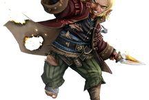 Gnome warlock concept