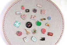 Embroidery hoop display