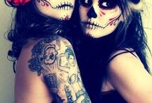 maquillaje de hallowen