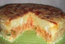 torta de frango com catupiri