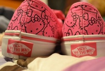 Vans and all star!!!