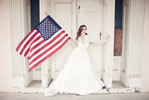 Red, White and Something Blue / by Soliloquy Bridal Couture