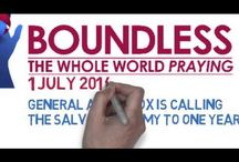 Boundless - The Whole World Praying / Eastern Michigan Salvation Army Soldiers and Friends will be praying for 24 hours specifically for the upcoming Boundless Congress.   The 24 hour prayer day will be held on Wednesday, January 21st.   The whole Army world will continue a 24/7 prayer around the world from July 2014 through the conclusion of Boundless Congress!  Join Us! / by Salvation Army