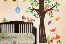 Woodland Cub Cave Ideas / Our baby is coming! We'll lay him/her down to sleep in a beautiful, quirky forest.