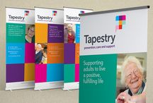 Our Work - Tapestry - Brand delivery / Acumen Design delivers charity rebrand in tight time scale