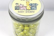 Baby Shower Personalised Favour Jars