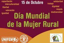 Día mundial de las mujeres rurales