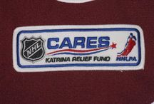 Patches / Patches the Avalanche have worn on their jerseys throughout their history.