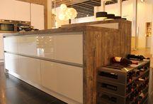 Showroom / De nieuwste keukens in onze showroom.