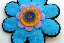 Felt Brooch, Hair Pins, & Felt for Fashion