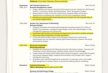 One Page Resumes / How to create a one page resume.