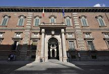 Virtual Tour - Palazzo Brera / La Pinacoteca è ospitata nell'omonimo palazzo tardo barocco edificato sull'area anticamente occupata dalla casa madre dell'ordine degli Umiliati. Molti furono gli architetti che lavorarono alle mura del palazzo dal 1573 fino al 1800.