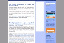 Websites and profiles