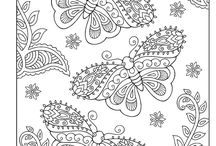 Adult Coloring Pages / by Katie Bates