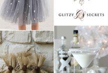 snowflake theme wedding