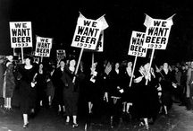 """Prohibition / """"Instead of giving money to found colleges to promote learning, why don't they pass a constitutional amendment prohibiting anybody from learning anything? If it works as good as the Prohibition one did, why, in five years we would have the smartest race of people on earth."""" - Will Rogers"""