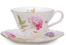Lovely Porcelain Tea Cups